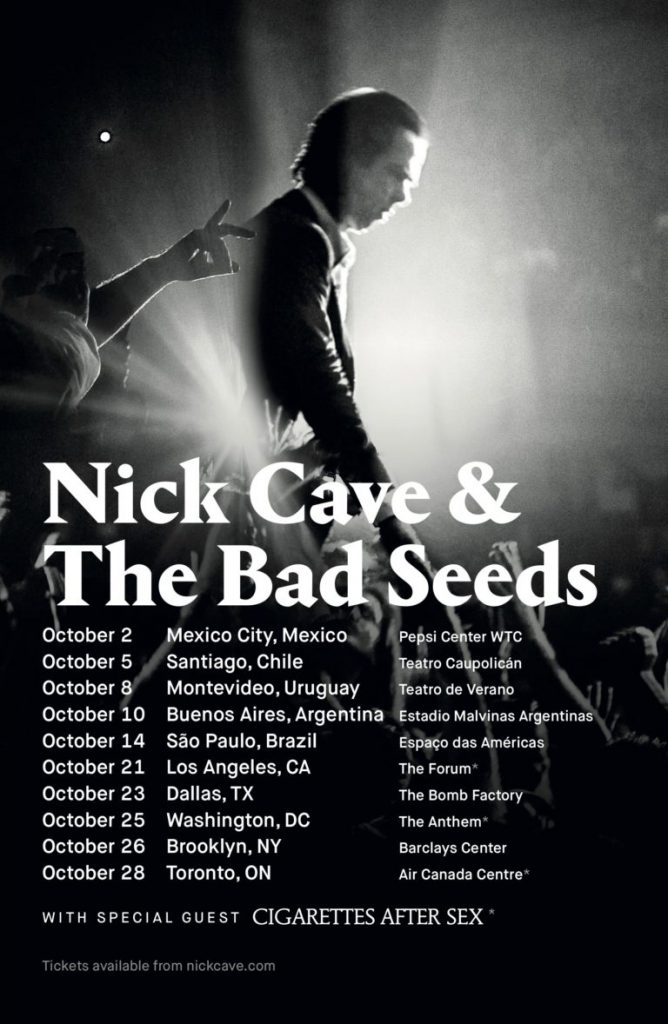 New Nick Cave & The Bad Seeds show announced