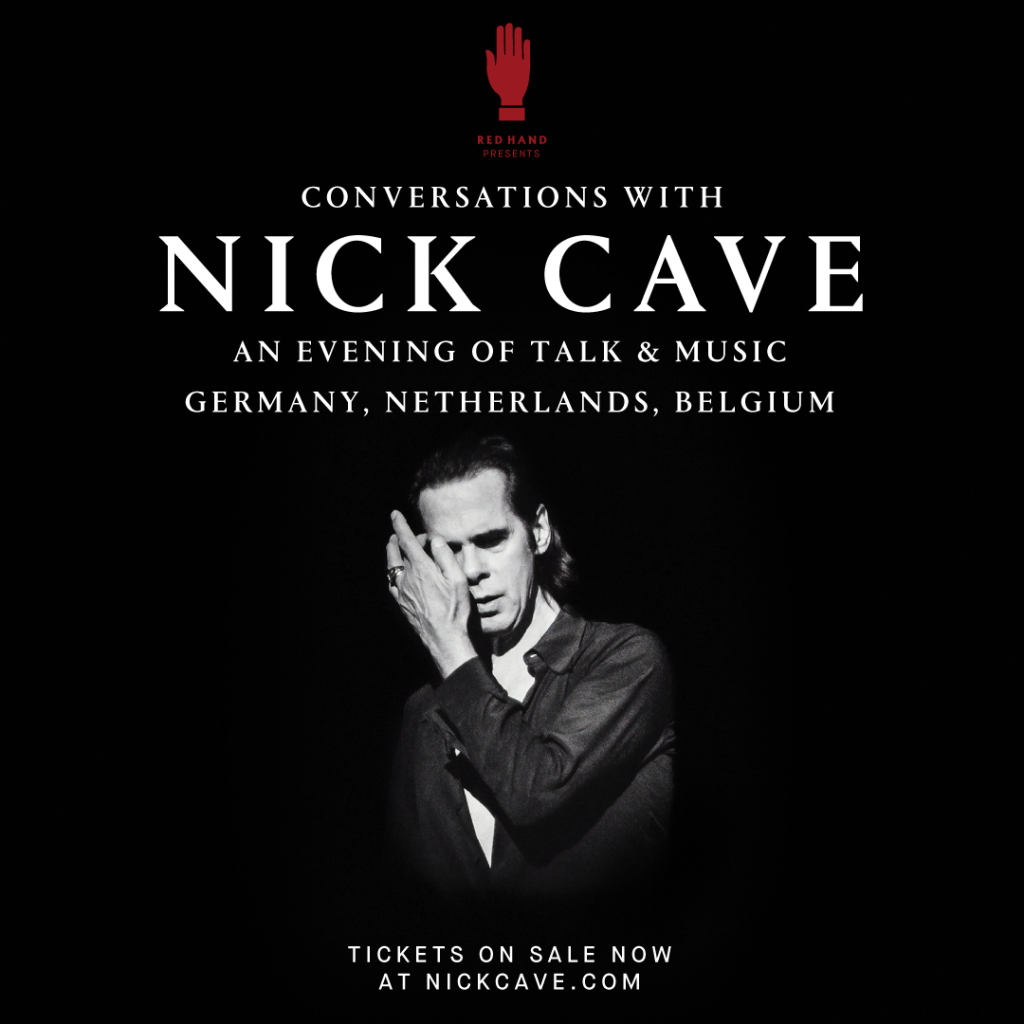 Conversations with Nick Cave – Now on sale