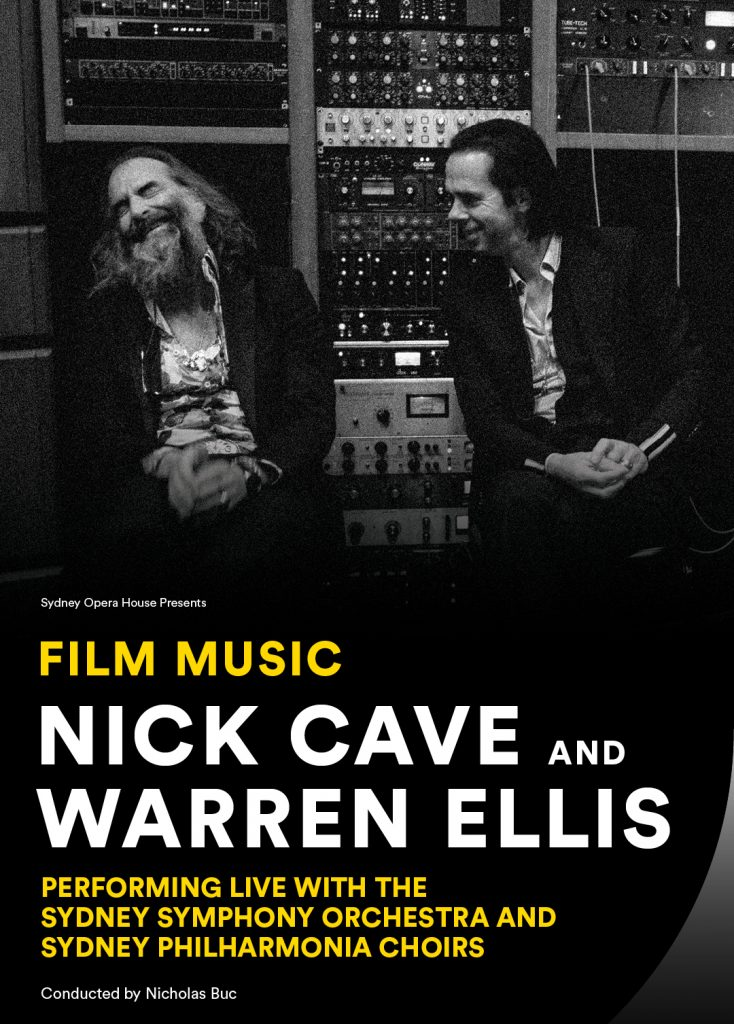 Nick Cave & Warren Ellis with the Sydney Symphony Orchestra