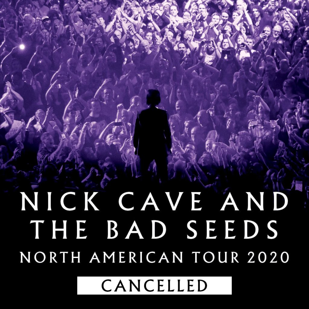 North America 2020 Tour Cancelled