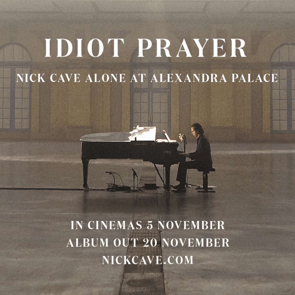 Idiot Prayer – album and cinema release