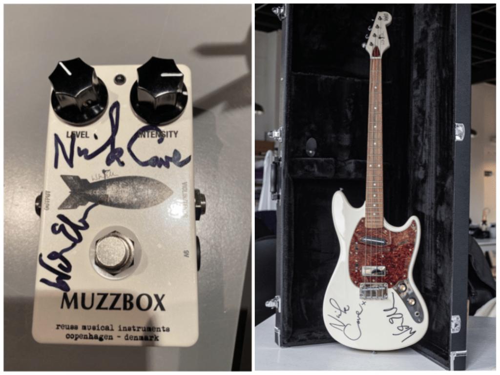 Win a Signed Nick Cave & Warren Ellis Guitar & Pedal